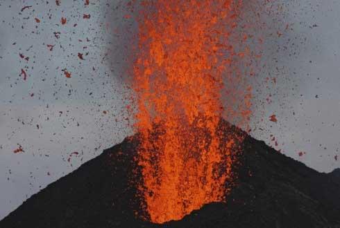 일본 활화산 '아소산' 분화, 백두산은 언제?