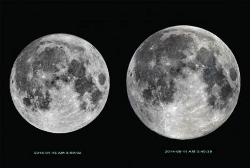 올 추석 보름달은 17시 50분에 '슈퍼문' 보세요~