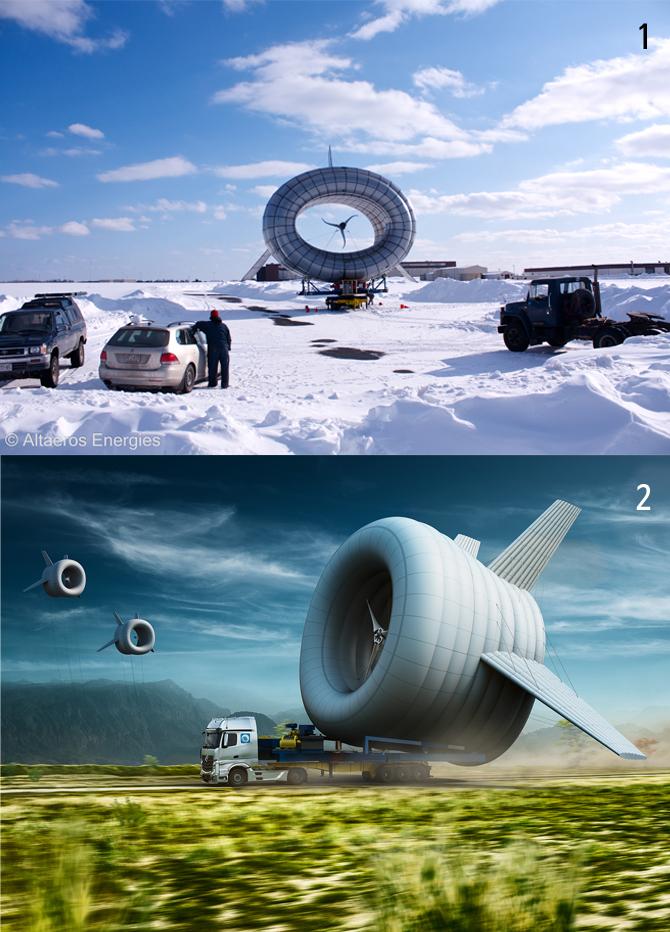알트에어로스 에너지스사는 발전기가 달린 헬륨 비행선을 개발했다. - 알트에어로스 에너지스 제공