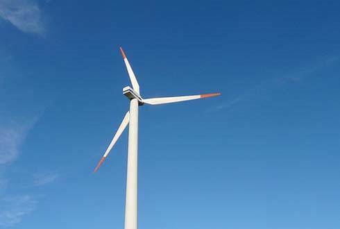 풍력발전기에 날개가 사라졌다