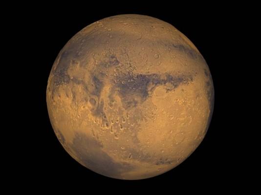 화성에서 소금물 개천 발견...외계 생명체 있나?