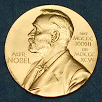 부와 명예를 동시에 거머 쥐는 노벨상. 순금으로 된 메달에는 유산을 남긴 알프레드 노벨이 새겨져 있다.  - 노벨상위원회 제공