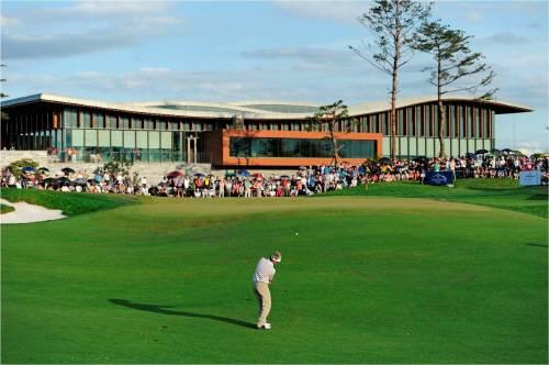 2015 프레지던츠컵이 열리는 잭니클라우스 골프클럽 - 송도국제도시개발유한회사 제공