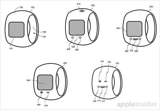 애플 스마트링의 스케치 - 애플 인사이더 제공