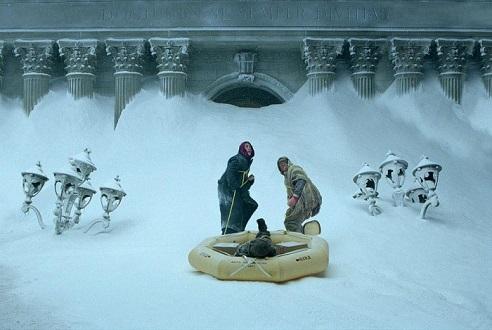 빙하기 다룬 재난영화 '투모로우', 사실이었네