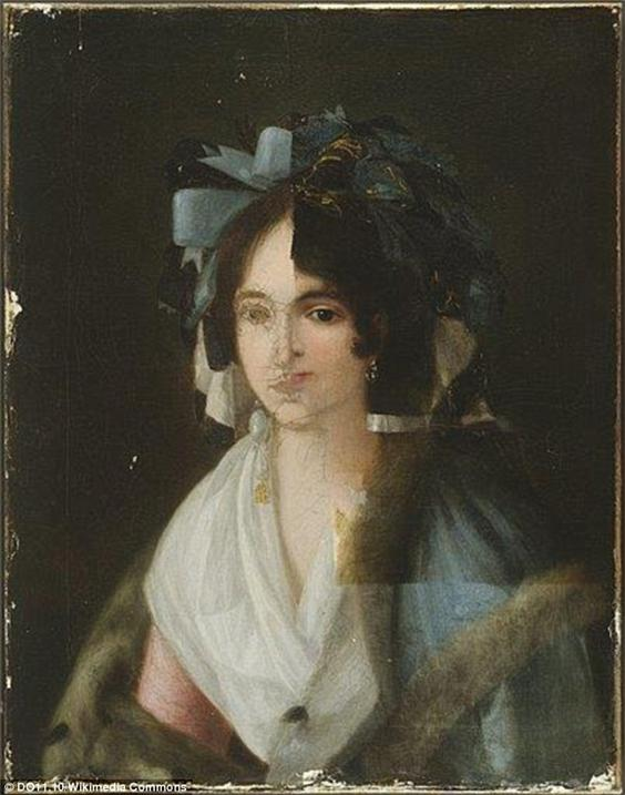 고야의 작품으로 알려졌던 이 초상화는 X선 촬영 분석을 통해 위조품으로 밝혀졌다. - 위키미디어 제공