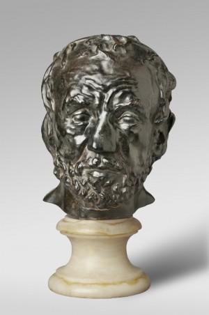 오귀스트 로댕의 24세 때 작품 '코가 깨진 사나이'(1864). 주로 외모가 아름다운 대상만을 조각하던 당시 풍토에 정면으로 도전한 충격적인 작품으로 릴케가 '로댕론'에서 그 의의를 자세히 다뤘다. - 로댕박물관 제공