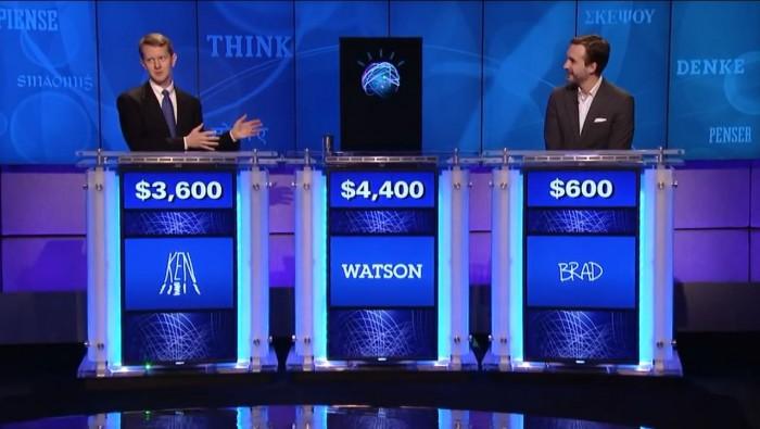엑소브레인의 1차 목표는 IBM의 인공지능 왓슨처럼 장학퀴즈의 우승자가 되는 것이다. 사진 속 왓슨은 2011년 미국의 인기 퀴즈쇼