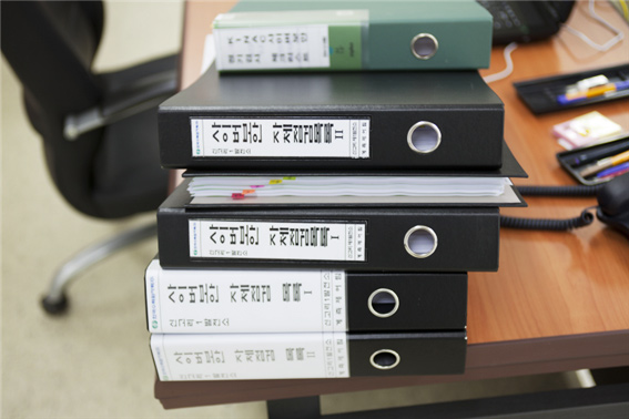 검사원들이 점검할 사이버보안 목록들 - 한국원자력통제기술원 제공