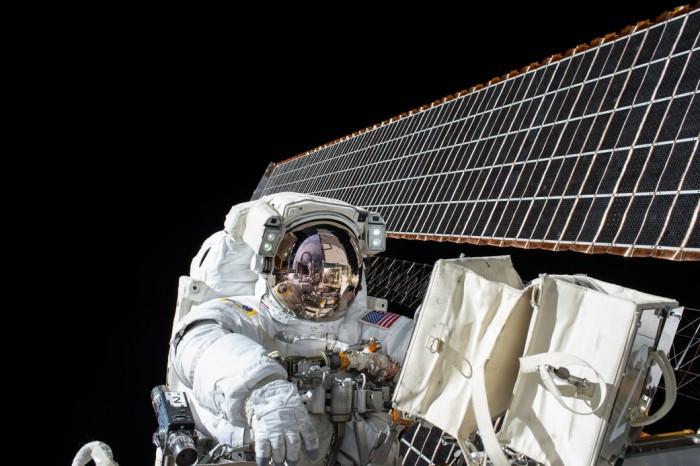 국제우주정거장(ISS)의 모습. - 미국 항공우주국(NASA) 제공