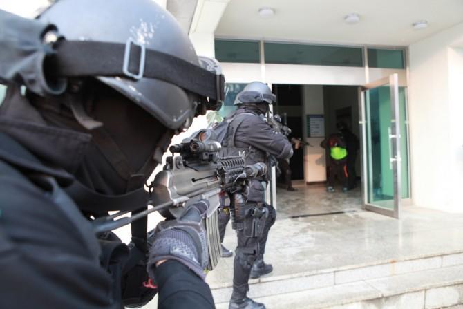 2015.1.21 수도서울 대테러 민관군경 통합방위훈련  - flick(대한민국 국군) 제공
