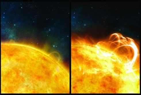 지금보다 수천 배 강력한 태양 흑점 폭발 일어날 수 있다