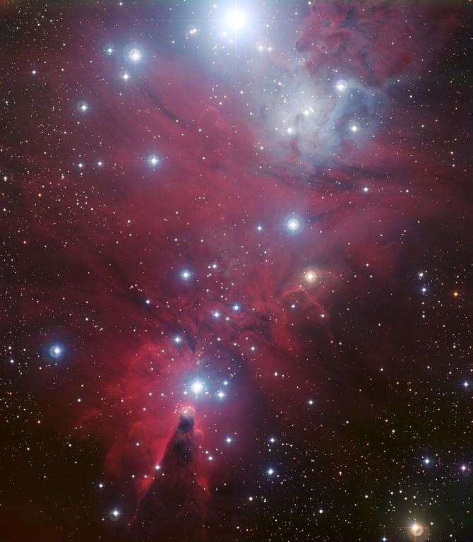 NGC 2264 - wikipedia 제공