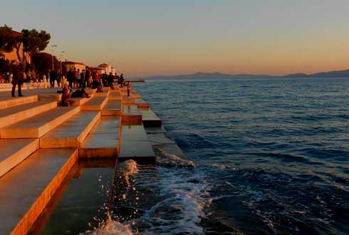 [고&스톱-크로아티아 자다르 上] 바다가 연주하는 오르간과 밤에 만나는 태양의 인사