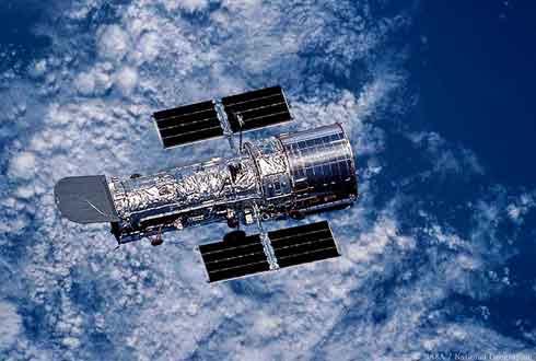 [내셔널지오그래픽사진전] 미항공우주국(NASA)가 지구 궤도에 올려놓은 허블 망원경