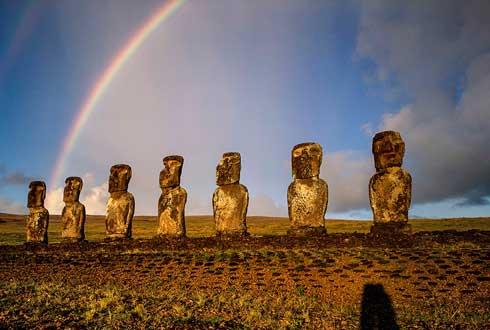 [내셔널지오그래픽사진전] 칠레 이스터섬의 불가사의 모아이
