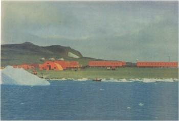 1988년 당시에 촬영된 남극세종기지의 모습. - 동아일보DB 제공