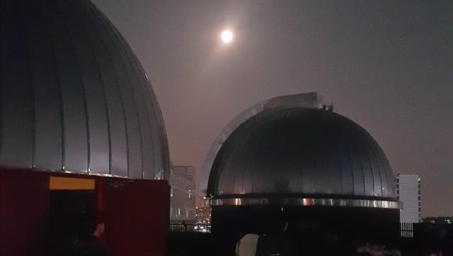 과학동아천문대에 뜬 2015년 '럭키문' - 과학동아천문대 유성범 제공