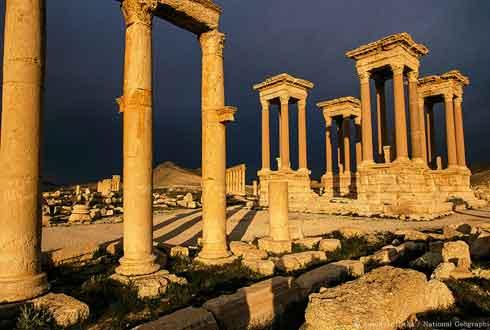 [내셔널지오그래픽사진전] IS 파괴한 독특한 문화를 가진 고대 도시, 팔미라 도시 유적