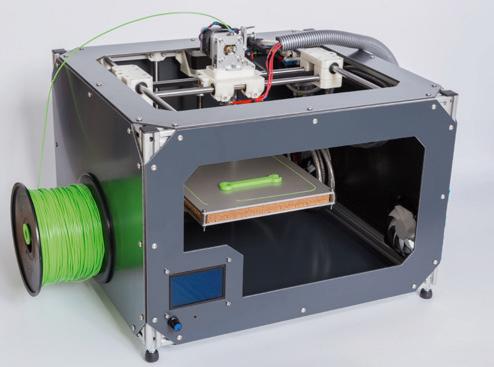 플라스틱 필라멘트를 녹여 압출하는 FDM 방식은 현재 3D 프린터에 가장 흔히 쓰인다. 그런데 이 프린터에서 초미세먼지(PM0.1)가 나온다는 사실이 밝혀졌다. 양은 적지만, 발암물질과 내분비교란물질이 검출됐다(사진은 설명과 상관 없음). - GIB 제공