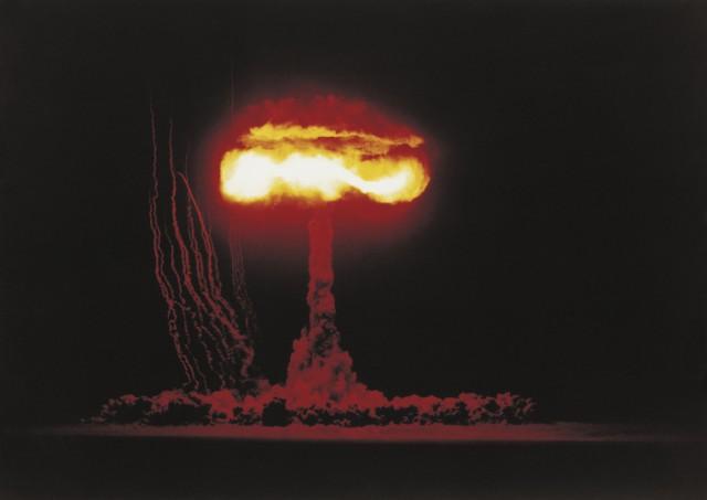 1953년 6월 4일 미국 네바다주 사막에서 진행된 핵폭탄 실험. - GIB 제공