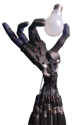 인공근육형 액츄에이터는 향후 부드러운 로봇 소재에 활용될 수 있다. - 위키미디어 제공