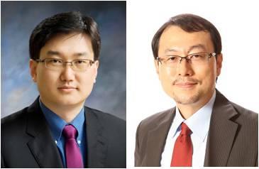 전영수 GIST 교수(왼쪽)과 전상용 KAIST 교수(오른쪽).  - KAIST 제공
