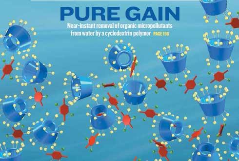 [표지로 읽는 과학-네이처] 섬유탈취제 성분으로 수질오염 간단히 해결