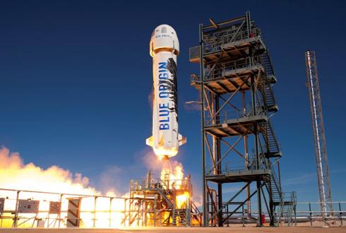 블루오리진, 재활용 로켓 테스트 2번째 성공