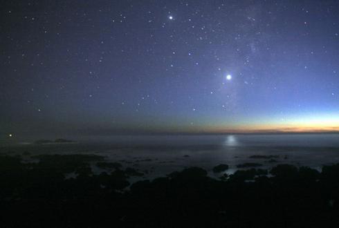 해뜨기 45분 전, 수성-금성-토성-화성-목성 한번에 본다