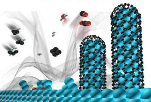 '천연가스' 이용해 나노와이어 저렴하게 대량생산한다