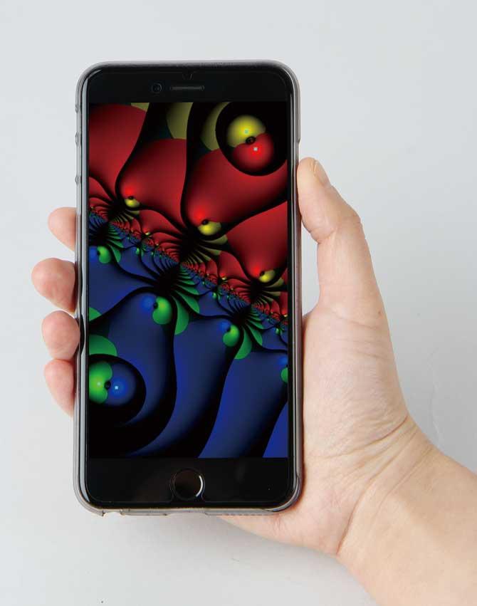 애플 앱스토어에서 'Poly-z-Vision'이라는 애플리케이션을 다운받으면 다양한 폴리노미오그래피 작품을 만나 볼 수 있습니다. 안드로이드 버전은 곧 출시할 예정입니다. - 바흐만 카탄타리(미국 뉴저지주립대 컴퓨터과학과 교수) 제공