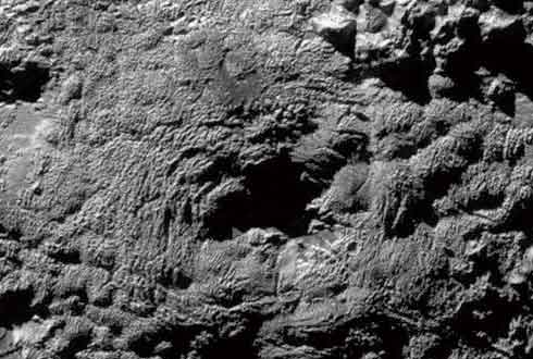 태양계에서 가장 거대한 얼음 화산