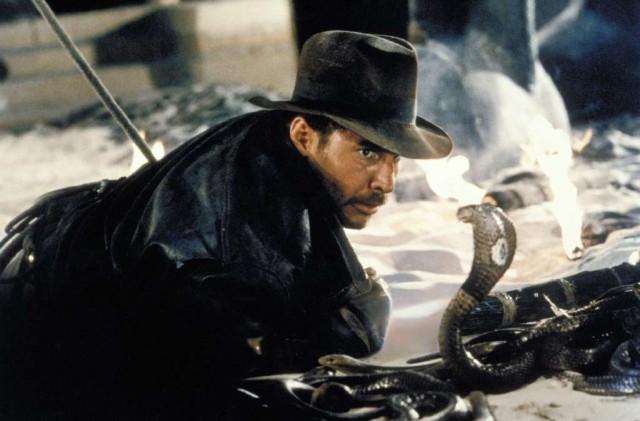 영화 '레이더스'에서 인디아나 존스는 뱀을 보면 극심한 공포를 느꼈다   - 영화 장면 캡처 제공