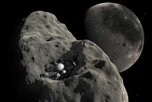 우주에서 캐낸 광물, 상업적 활용 가능할까