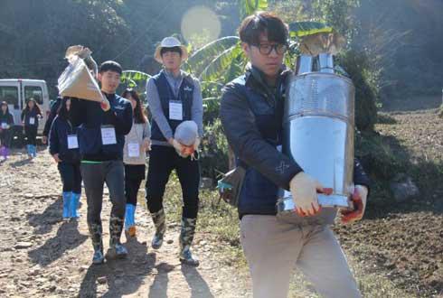 연기 잡으러 베트남 간 한국 대학생들