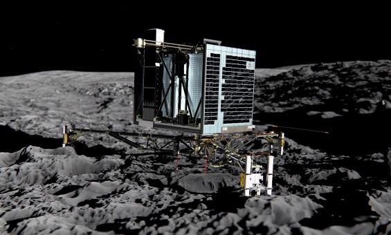 굿바이, 필레~ 인류 첫 혜성 탐사선 영구 동면 들어가