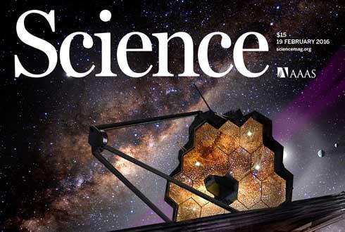 우주 한복판에 떠 있는 거대한 '벌집 망원경'