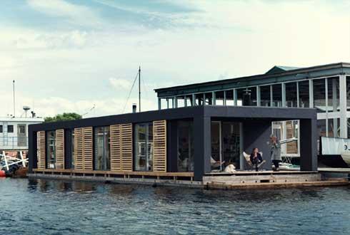 언제나 자연과 함께 '덴마크의 수상 주택'