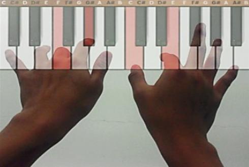 눈앞에 피아노 건반이 딱! 'K-글라스 3' 개발