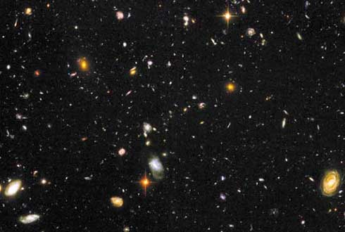텅빈 공간에서 발견한 은하 만물상