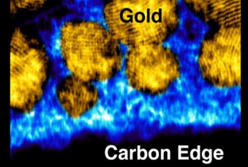 탄소 원자 경계면까지 확인, 새로운 주사투과전자현미경(STEM) 개발