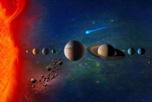지구의 109배 태양 vs. 3분의 1 수성, 천체 크기는 왜 다를까