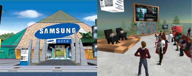 다다월드, 1999.(왼쪽) 세컨드라이프, 2003.(오른쪽) - www.dadaworlds.com, 린든랩 제공