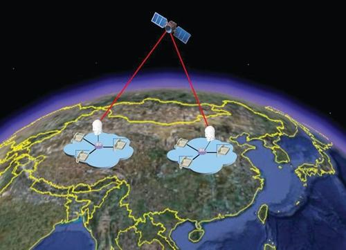 양자암호 생성까지 가능한 중국의 '양자통신실험위성(QUESS)'. 중국 국립우주과학센터(NSSC) 제공.