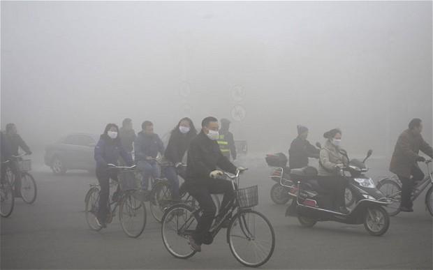 미세먼지로 가득 찬 중국 베이징 시내. 중국은 공기오염으로 인한 사망자 수가 전 세계에서 가장 많은 것으로 나타났다. - flickr 제공