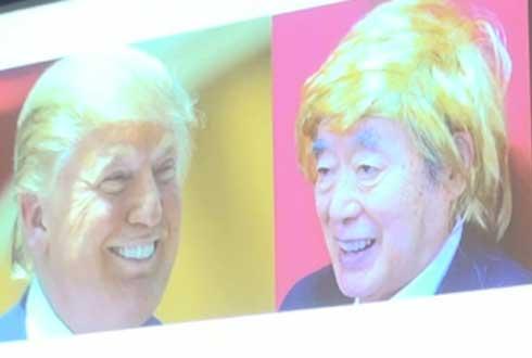 일본의 괴짜 발명가, '호신용 가발' 내놔