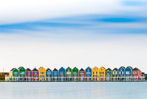 장난감 같은 네덜란드 풍경 '인기'