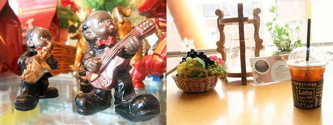아기자기한 볼거리 가득! 카페 꼬세(왼쪽), 천원의 행복! 맛과 향까지 감동인 아이스 아메리카노(오른쪽) - 고기은 제공