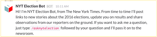 NYT Election Bot 제공